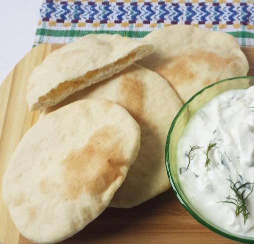 Homemade Pita Bread - frugal, multiuse