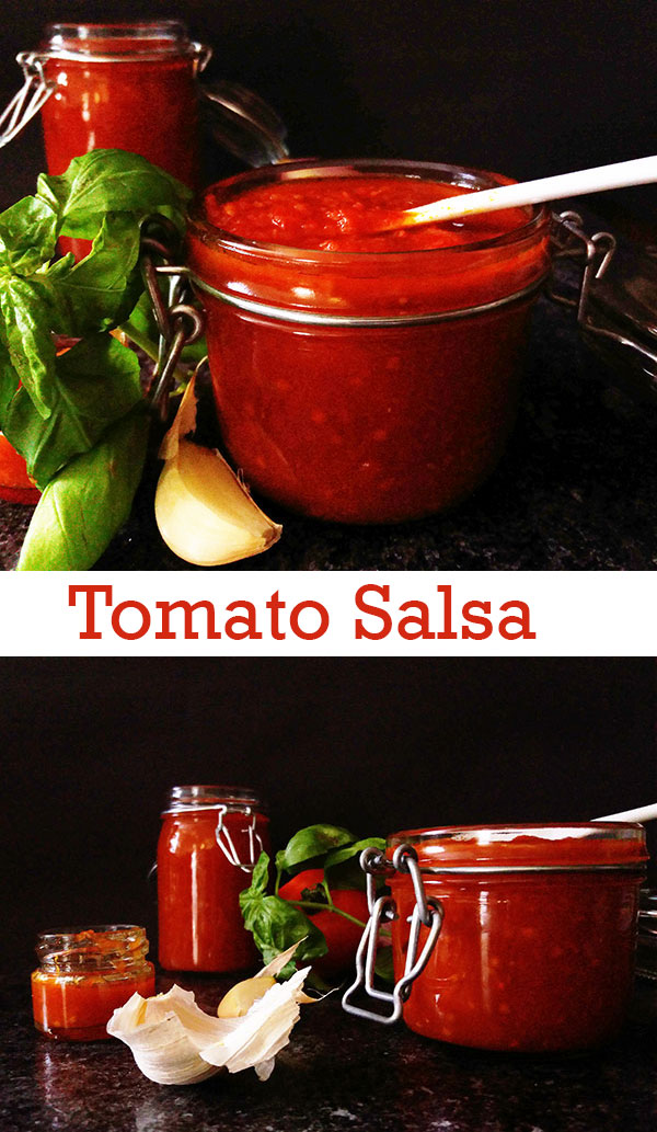 Tomato Salsa: Frugal way through the day !