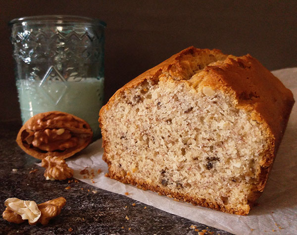 When making breakfast base for several days ahead this Banana Walnut Bread is, of course, the best solution.