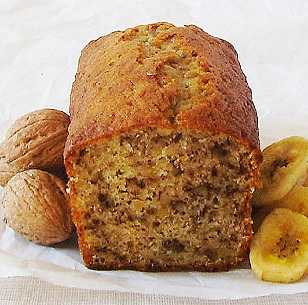 Banana Walnut Bread is the best solution when making breakfast base for several days ahead. Frugal way.