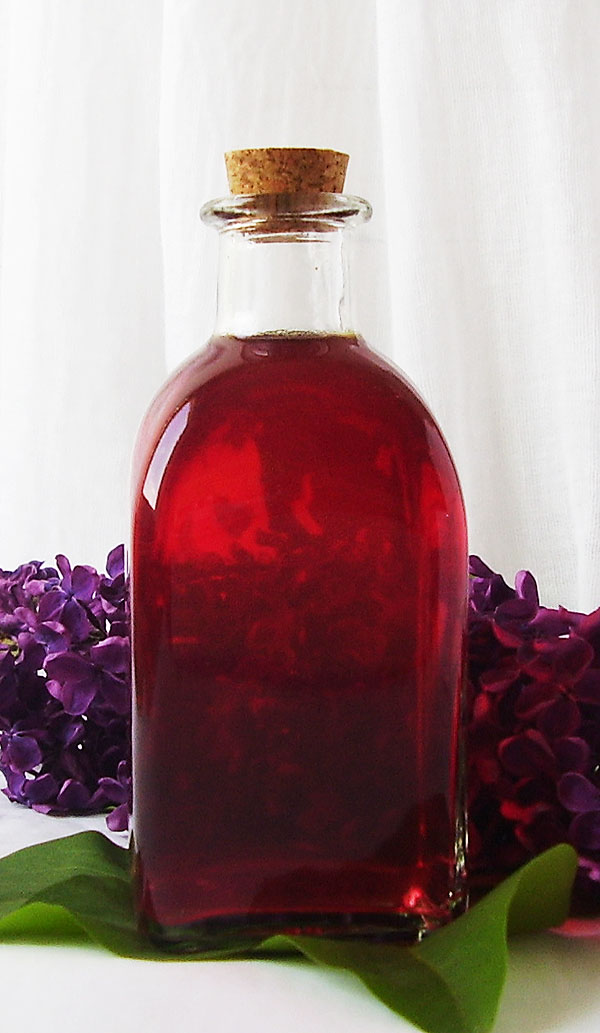 Lilac Syrup is natural, wonderfully colored syrup or dressing for ice cream, pancakes or sponge cake.
