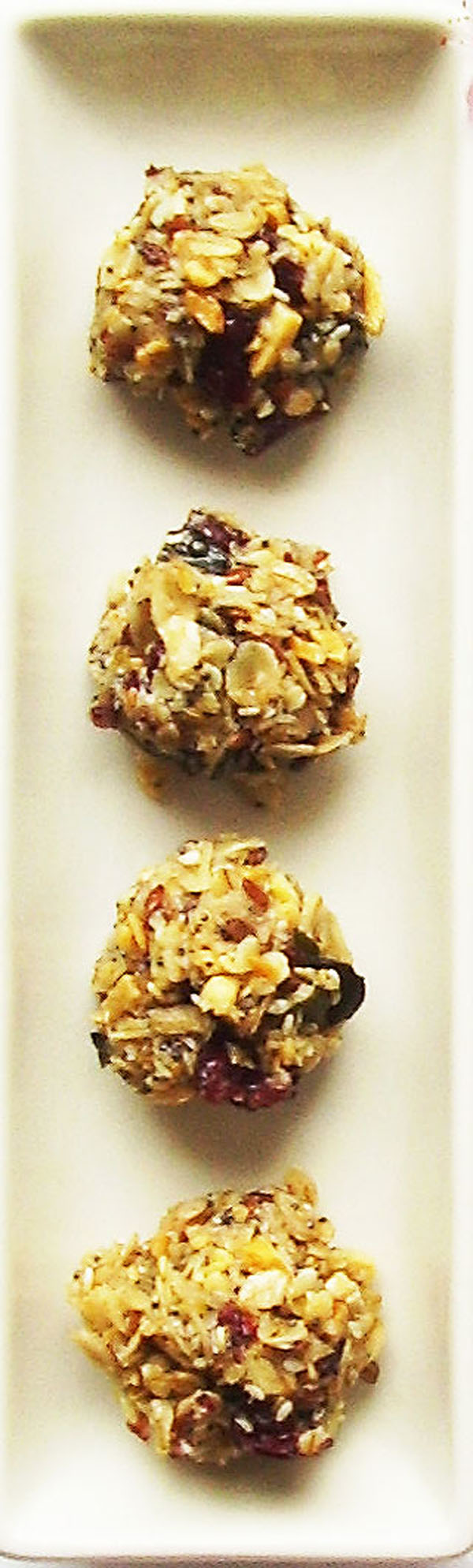 No Bake Energy Balls are healthy, time saving and nutritious breakfast or a snack. Energy boosting !