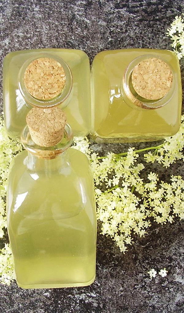 Elderflower Syrup : Elderflower fragrance captured in a bottle. Floral refreshing drink for hot summer days.