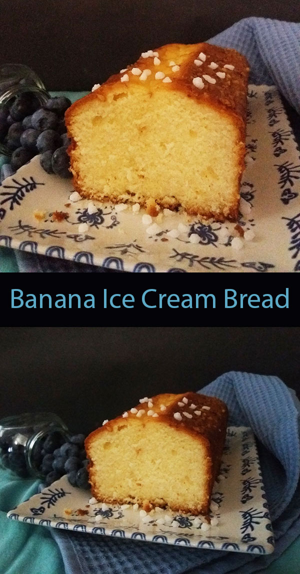 How to make an egg free bread using bananas and banana ice cream ! Banana Ice Cream Bread is an excellent breakfast and the tastiest healthy snack every kid will love.