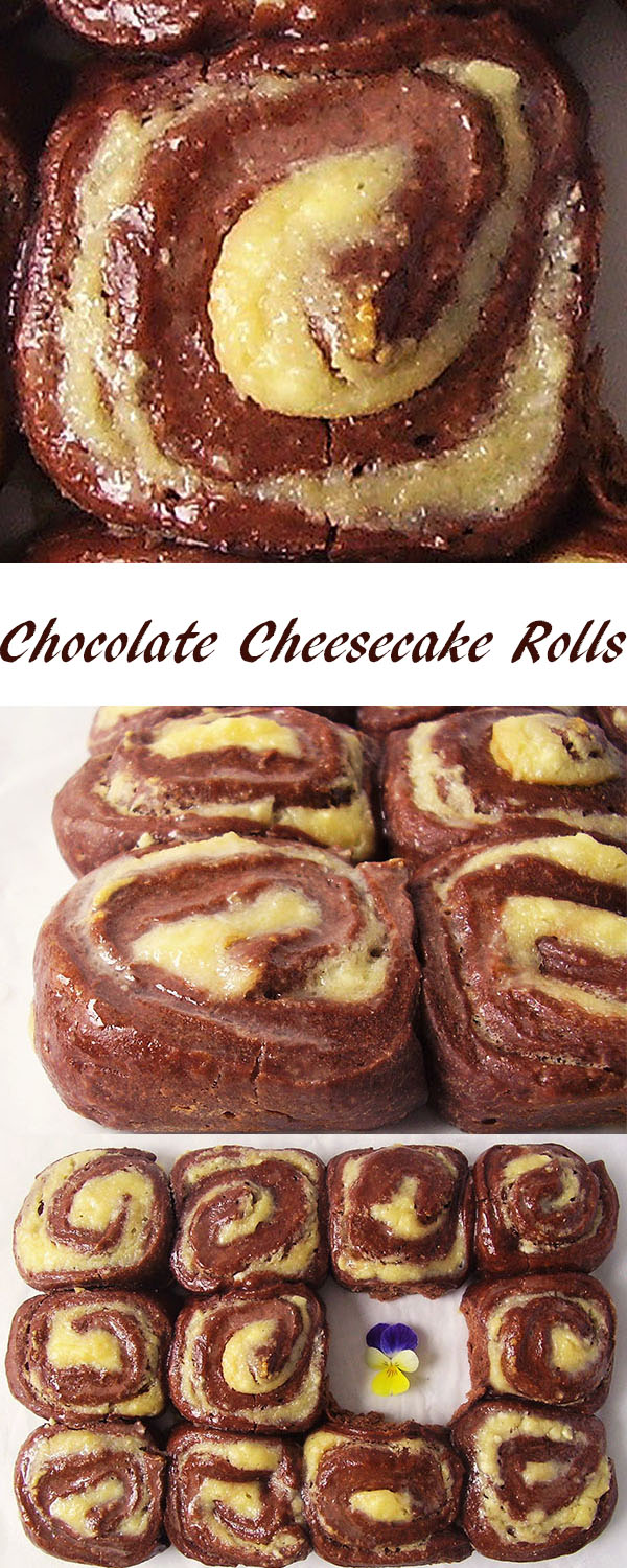 Chocolate Cheesecake Rolls: Enjoy this version from now on !