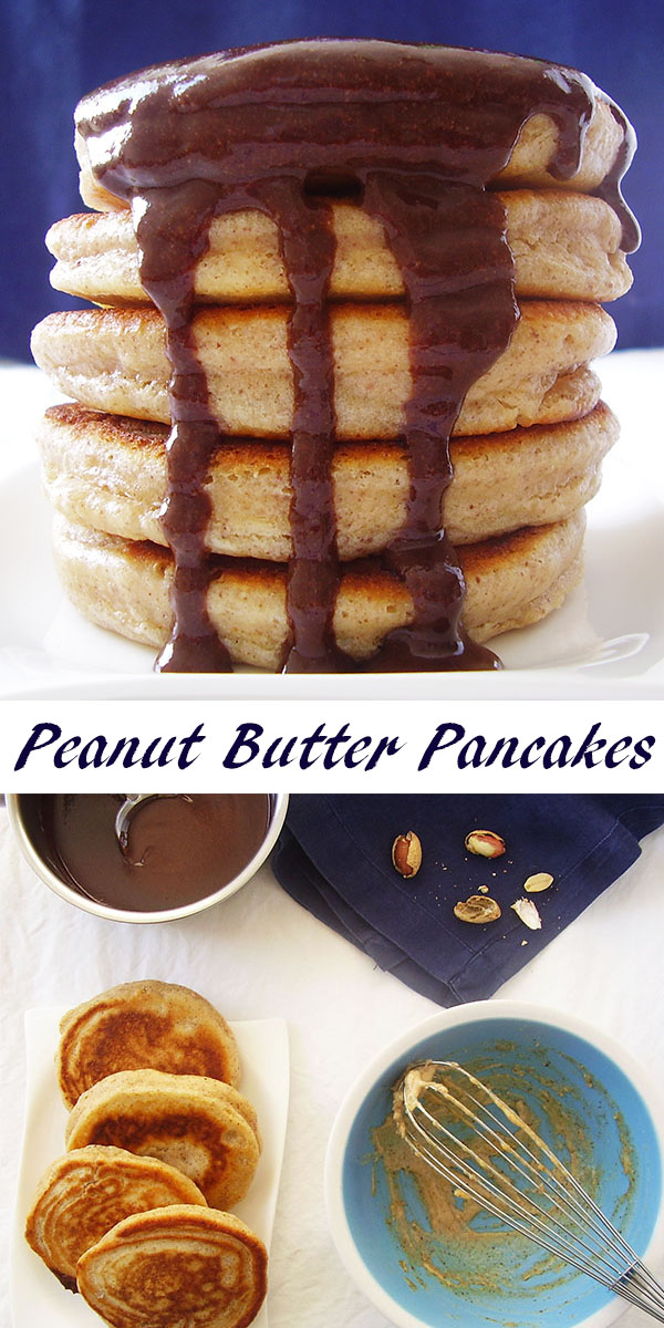 Peanut Butter Pancakes: to make a great start for the brand new day !