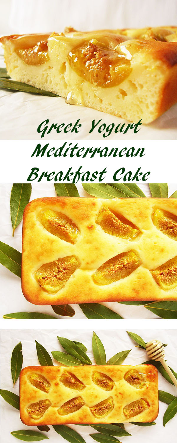 Greek Yogurt Mediterranean Breakfast Cake : best way to start your day !