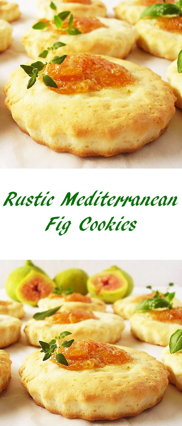 Rustic Mediterranean Fig Cookies : Perfect coastal delicacy.