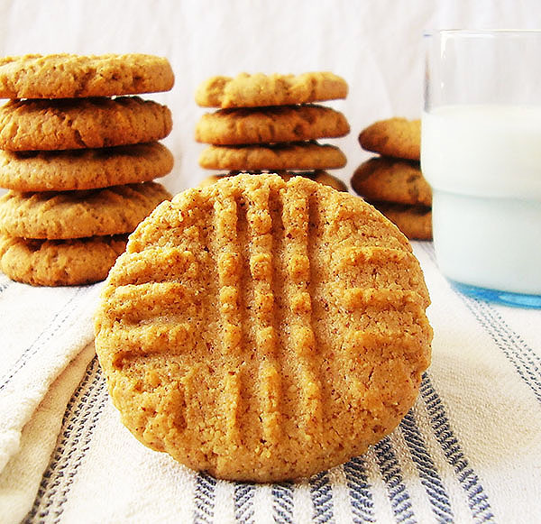 Peanut Butter Cookies : Evergreen !