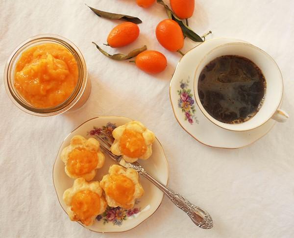 Kumquat curd: delightful silky specialty.