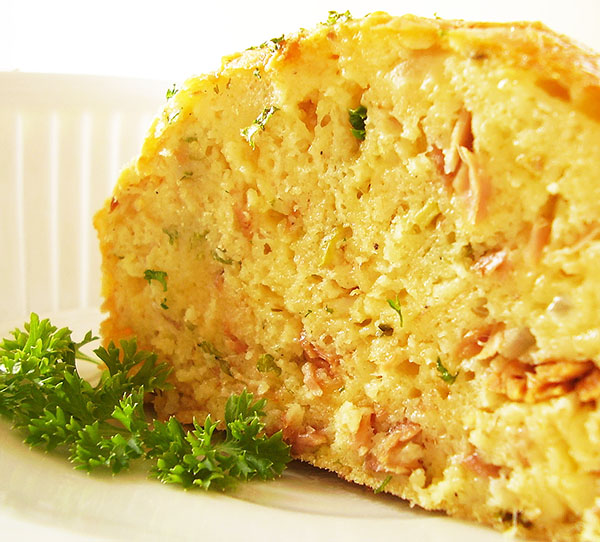 Tuna Savoury Cake: So scrumptious savoury cake, perfect for gatherings !