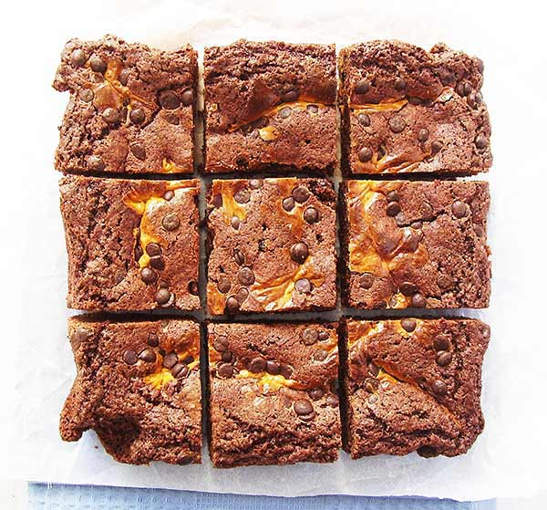 Dulce de Leche Brownies : simply the best, better than all the rest …