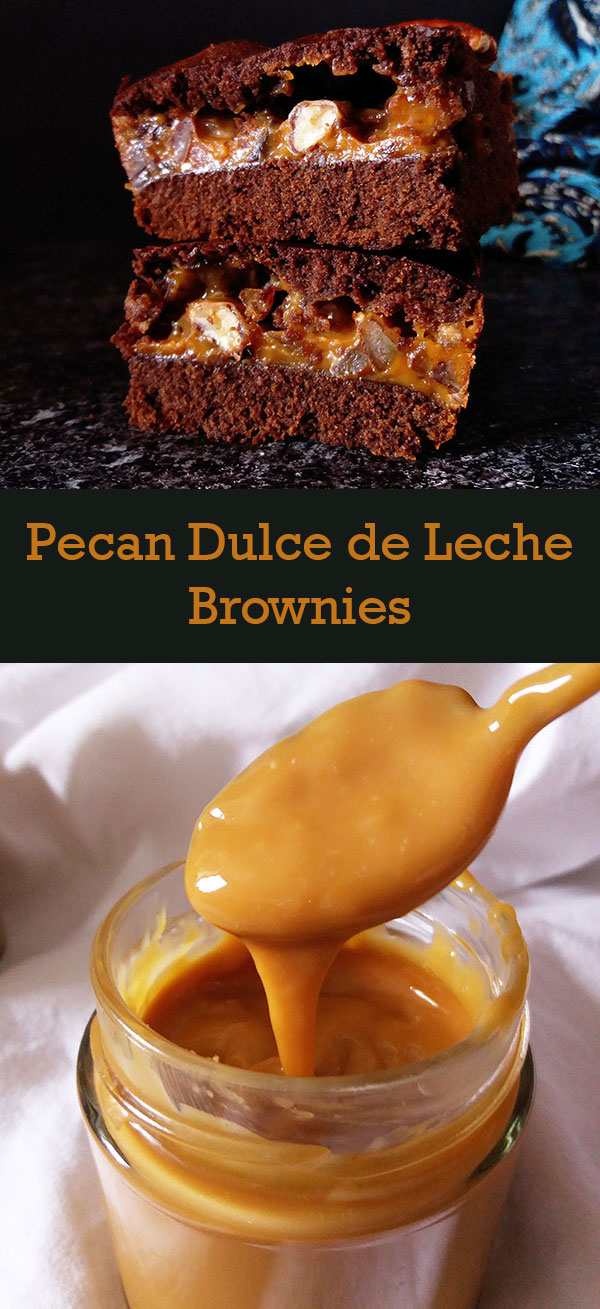 Pecan Dulce de Leche Brownies : simply the best, better than all the rest …