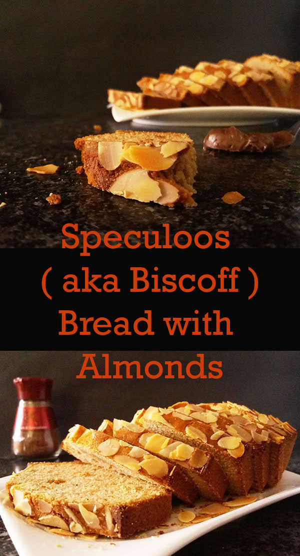 Speculoos ( aka Biscoff ) Bread with Almonds : I've heard some rumors that Santa made a double batch !