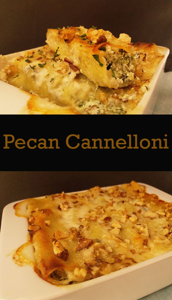 Pecan Cannelloni : nutty Italian classic !
