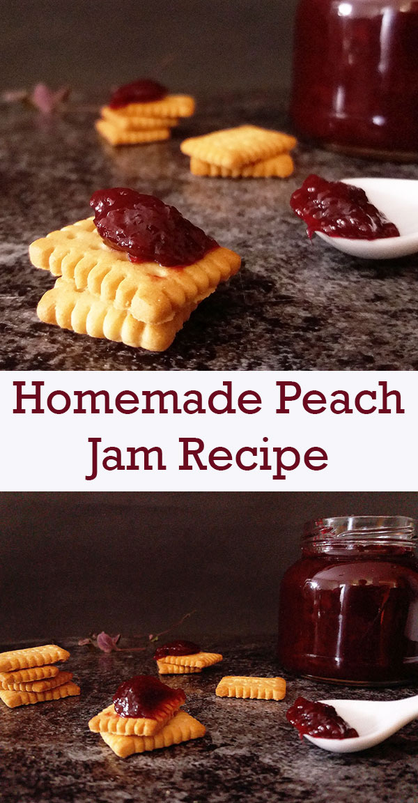 Homemade Peach Jam Recipe : keeper for sandwich cookies to be made for holidays !