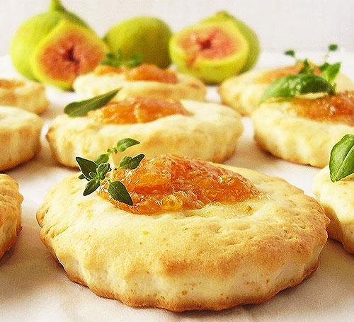 Rustic Mediterranean Fig Cookies : Perfect coastal delicacy.
