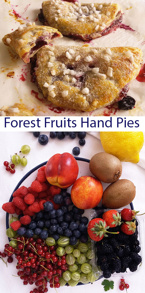 Forest Fruits Hand Pies : What a beautiful mess !