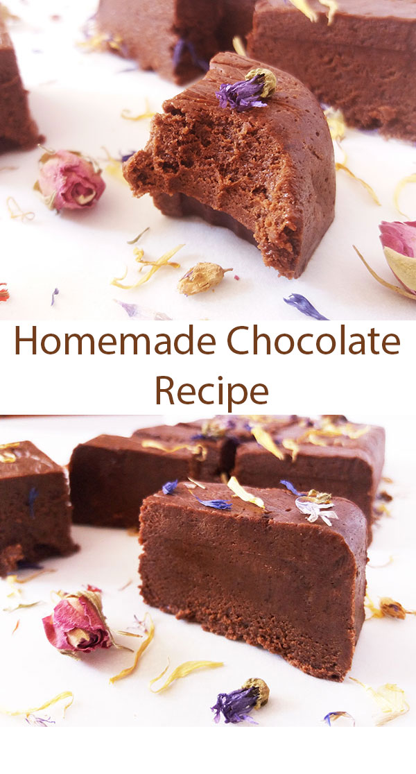 Homemade Chocolate Recipe : wartime chocolate version to introduce to new generations ! So tasty !