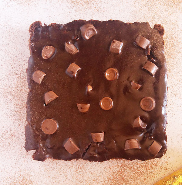 Rolo Brownies : chocolate and caramel loaded brownies !