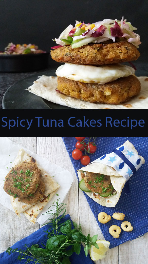 Spicy Tuna Cakes Recipe : easy and quick brunch or easy Saturday lunch, everybody enjoys.