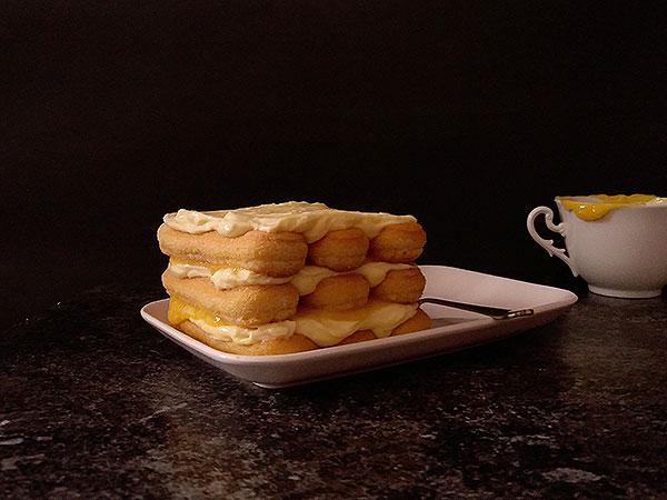 Limoncello Tiramisu Recipe : refreshing Limoncello, Mascarpone, lemon curd and ladyfingers twist for beautiful summer dessert !