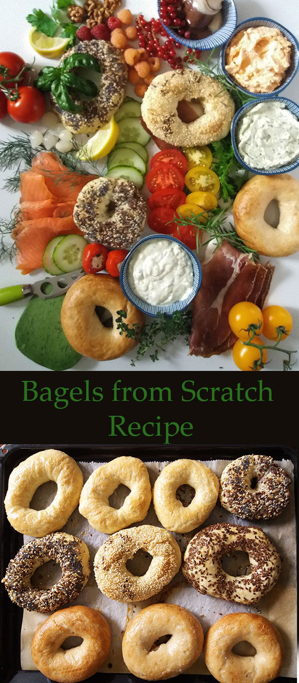 Bagels from Scratch Recipe : perfect, simple and so easy to make and yes, everybody loves it.