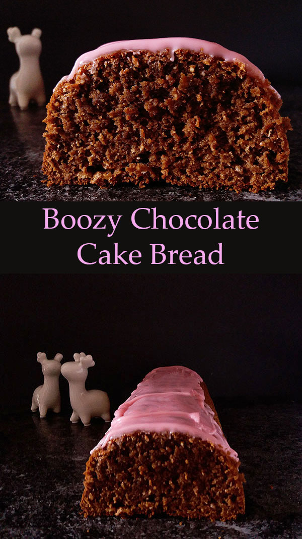 Boozy Chocolate Cake Bread : Dark rum flavoured chocolate cake bread !