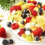 Fruit Salad with Rosemary and Cream Cheese