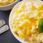 Cauliflower Rice Mac and Cheese